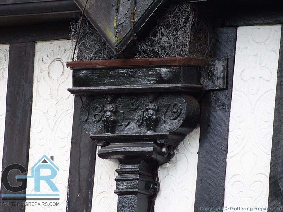 Victorian antique hopper head